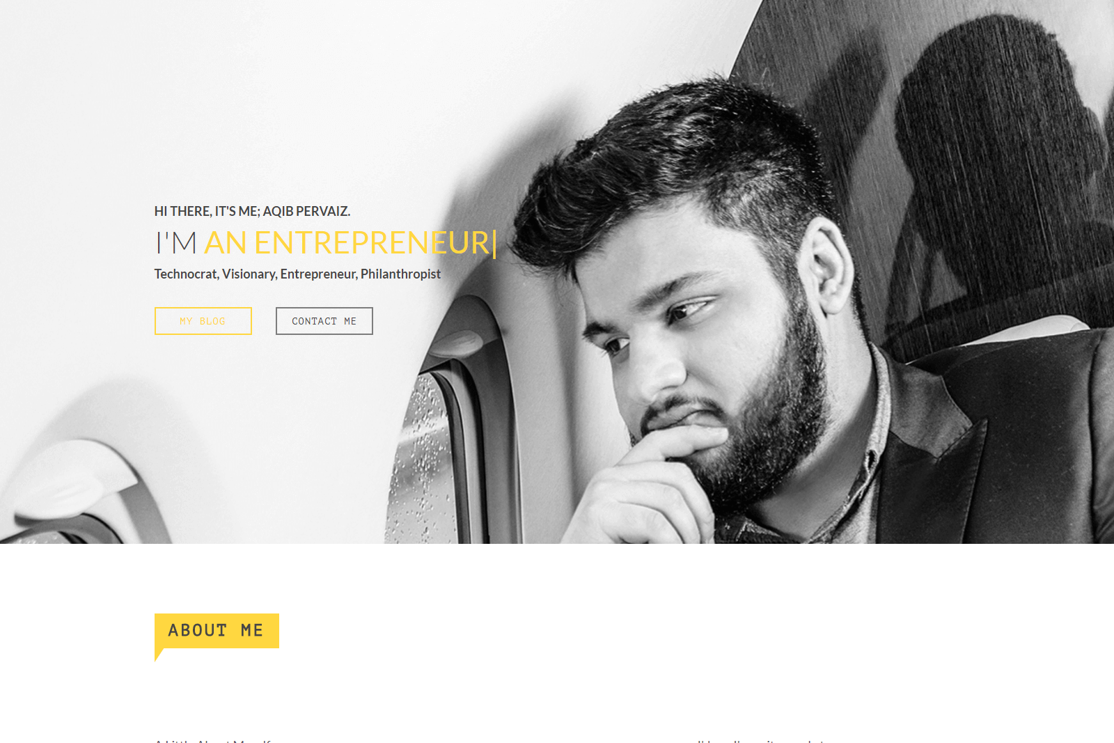 Aqib Pervaiz Website Portfolio