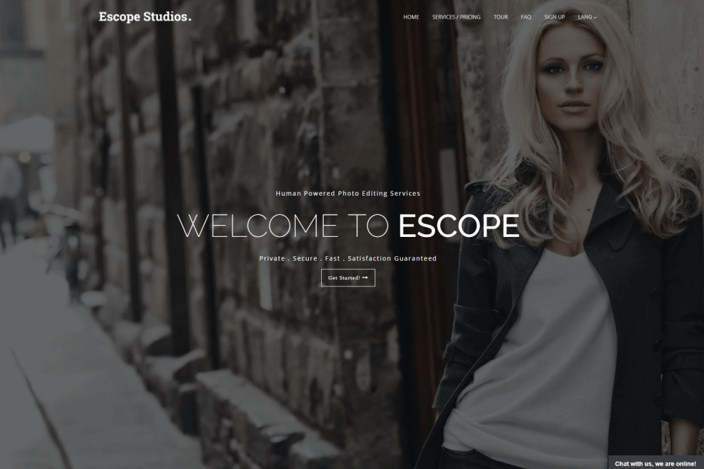 Escope Studios Website Portfolio