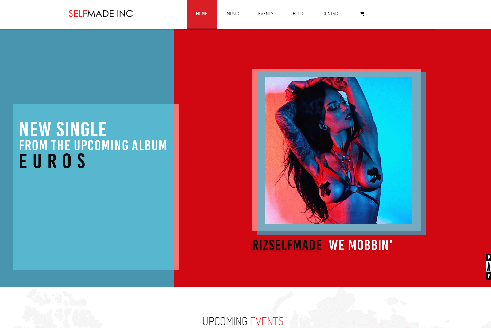 Selfmade Inc Website Portfolio
