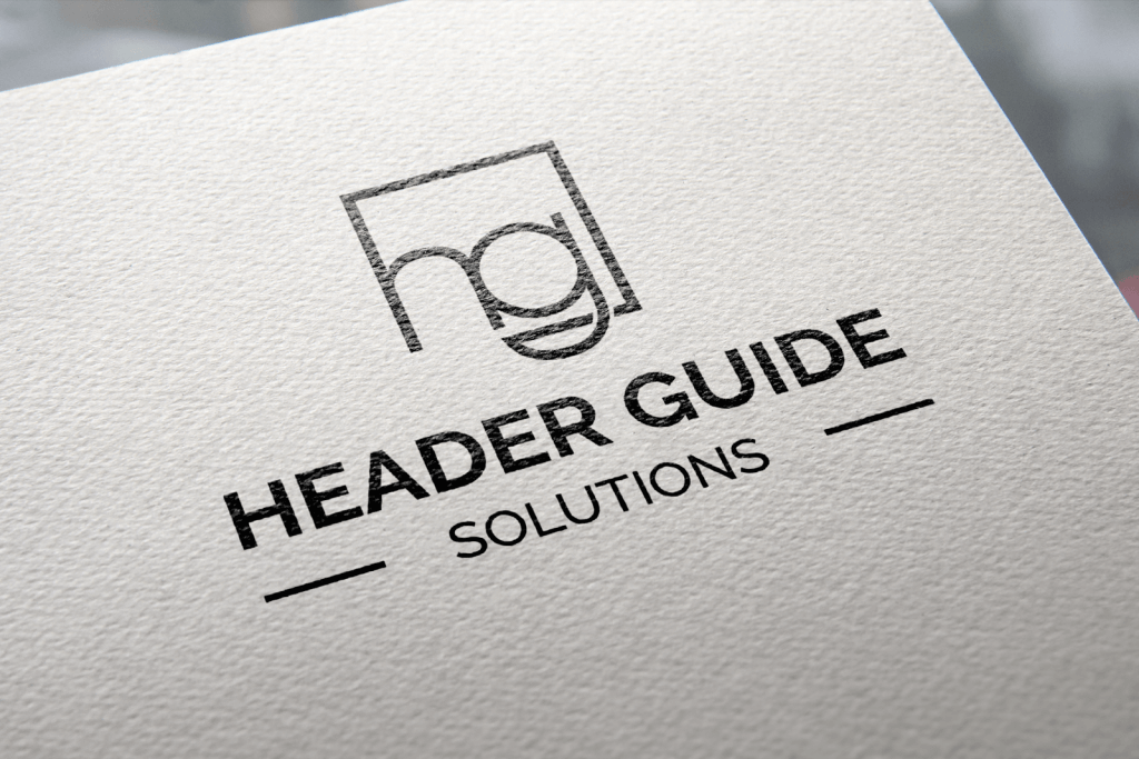 Header Guide Branding Portfolio